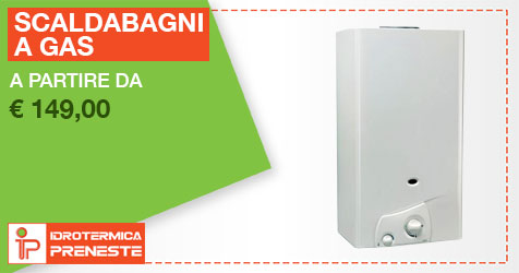 scaldabagni a gas in offerta