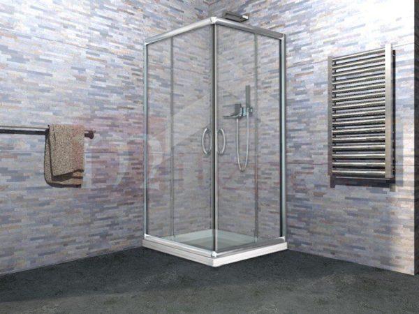 Offerta box doccia in cristallo