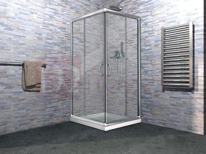 Box doccia in cristallo in offerta iderotermica preneste