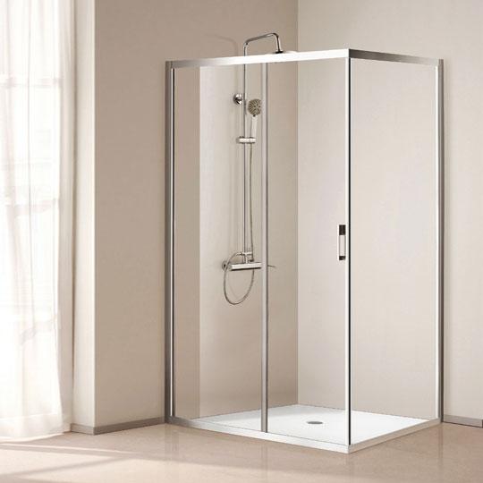 cabina doccia 6mm spazi ristretti
