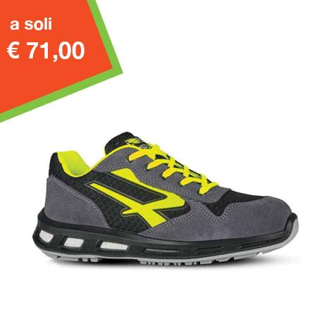 scarpa antinfortunistica u power yellow